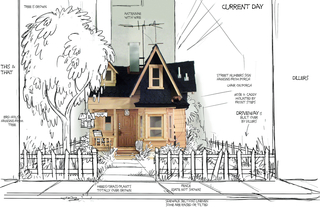 Concept Art, Carl's House, 2009
