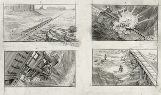 Concept Art, Western Opening, Toy Story 3, 2010
