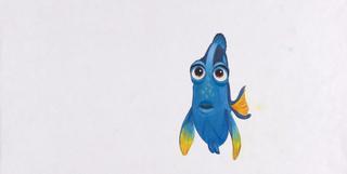 Concept Art, Dory, Finding Nemo, 2003