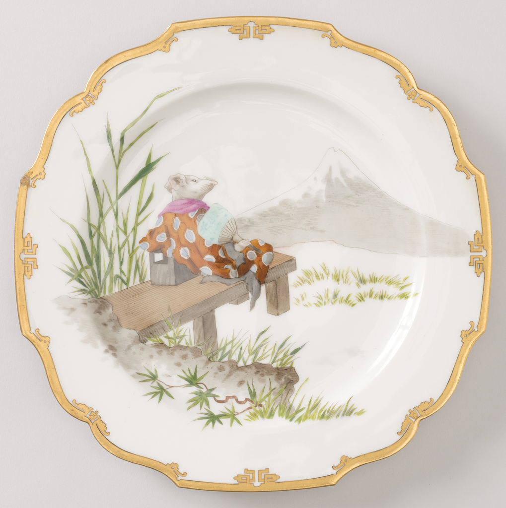 Plate (France), ca. 1880