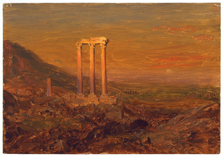 Drawing, Classical Ruins, Syria