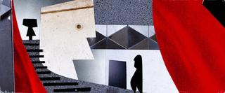 Concept Art, Edna Mode's House, The Incredibles