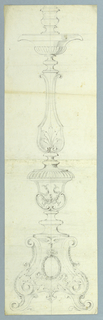 Drawing, A Candelabrum, 1825–50