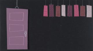 Concept Art, Title Sequence Concept Art, Monsters, Inc., 2001