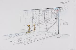 Concept Art, Headquarters, Inside Out, 2015