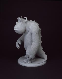 Concept Art, Sullivan, Monsters, Inc., 2001
