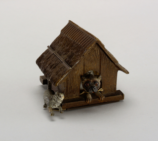 Inkwell, Dog House And Dog
