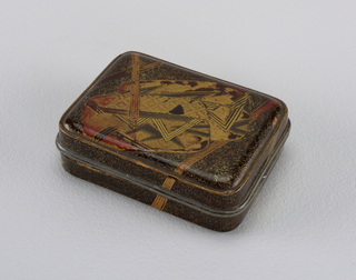Box With Cover (Japan), 1875–1900