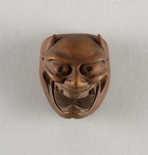 Grinning demon Miniature Mask