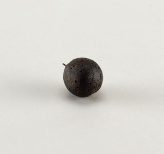 Round purple plum.