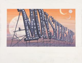Concept Art, Monsters, Inc., Monsters, Inc., 2001