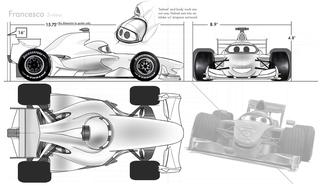 Concept Art, Francesco Bernoulli, Cars 2, 2011