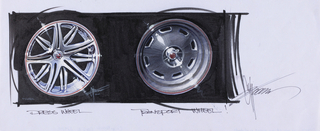 Concept Art, Wheel Rims, Cars 2, 2011