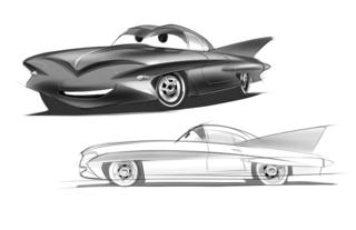 Concept Art, Finn McMissile, Cars 2, 2011