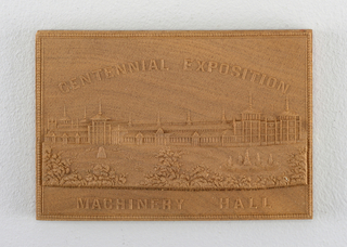 """Centennial Exposition / Machinery Hall"""
