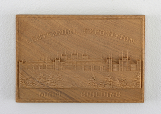 """Centennial Exposition / Main Building"""