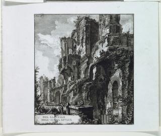 """Print, Del Castello dell'Aqua Giulia, plate IV from """"Le Rovine del Castello dell'Acqua Giulia (The Ruins of the Fountainhead of the Aqua Giulia), 1761"""