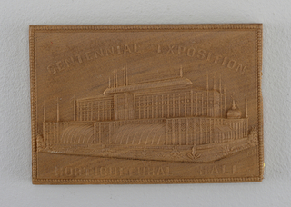 """Centennial Exposition / Horitcultural Hall"""