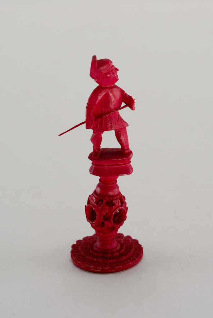 Chesspiece: Red Pawn