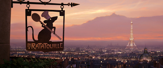 Concept Art, Paris Matte Painting, Ratatouille, 2007