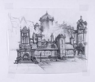 Concept Art, Monsters University, Monsters University, 2013