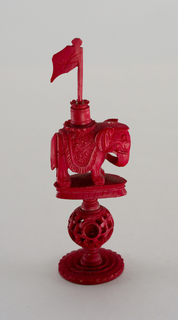 Chesspiece: Red Rook