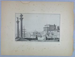 Album of theater decorations, Schinkel