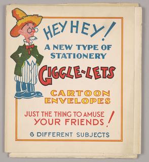 Folder, Hey! Hey! A New Type of Stationery...