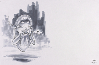 Concept Art, EVE, WALL·E, 2008