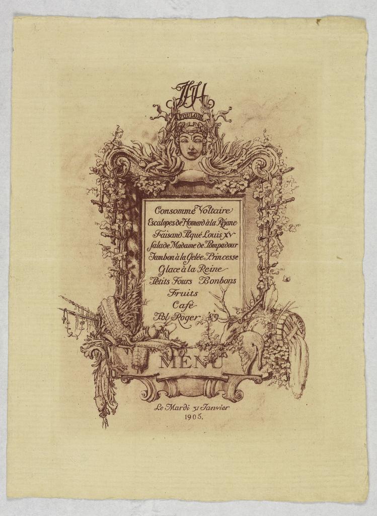Engraving-menu