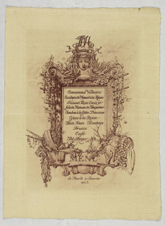 Engraving-menu