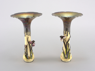 a& b: Vase and top c&d: Vase and top
