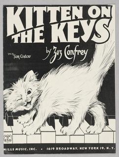 Sheet Music, Kitten on the Keys
