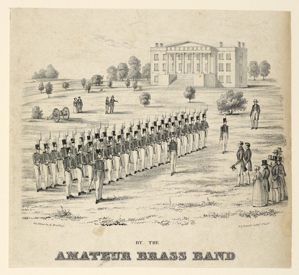 Sheet Music, By the Amateur Brass Band