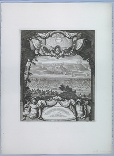 Print, View (Taking of Besancon), 1674