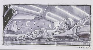 Concept Art, Nursery, WALL·E, 2008