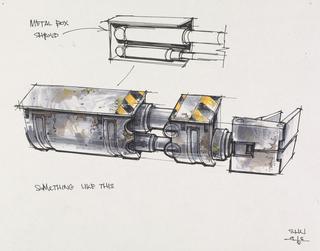 Concept Art, WALL·E Arm, WALL·E, 2008