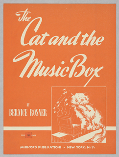 Sheet Music, The Cat and the Music Box, 1944