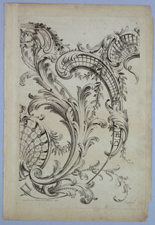 """Print, Plate 5, from """"Divers Ornemens"""""""