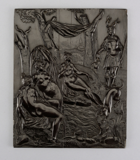 Panel, early–mid-17th century