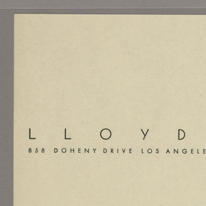 Letterhead with name of enterprise printed in black ink across the top with stylized cactus at upper right.