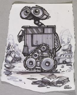 Concept Art, WALL·E, WALL·E, 2008