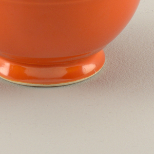 Red tea cup.