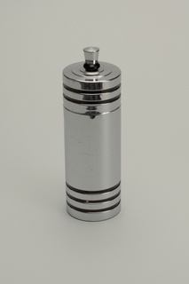 Gaiety Cocktail Shaker With Lid And Strainer, ca. 1930