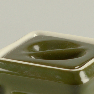 Cube Teapot And Lid, mid-20th century