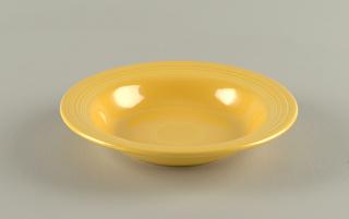 Yellow bowl.