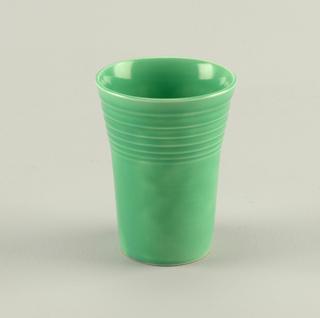 Light green tumbler.