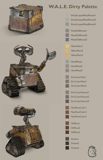 Shader Packet, WALL·E, WALL·E, 2008