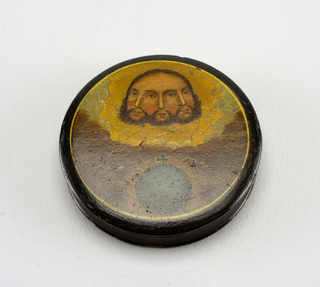 Patch Box And Cover, late 18th century
