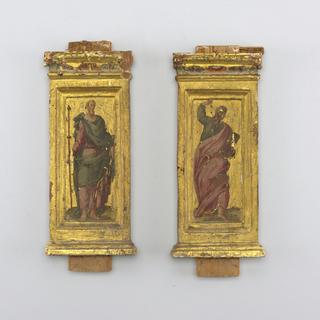 2 Pieces Gothic Panels (France)